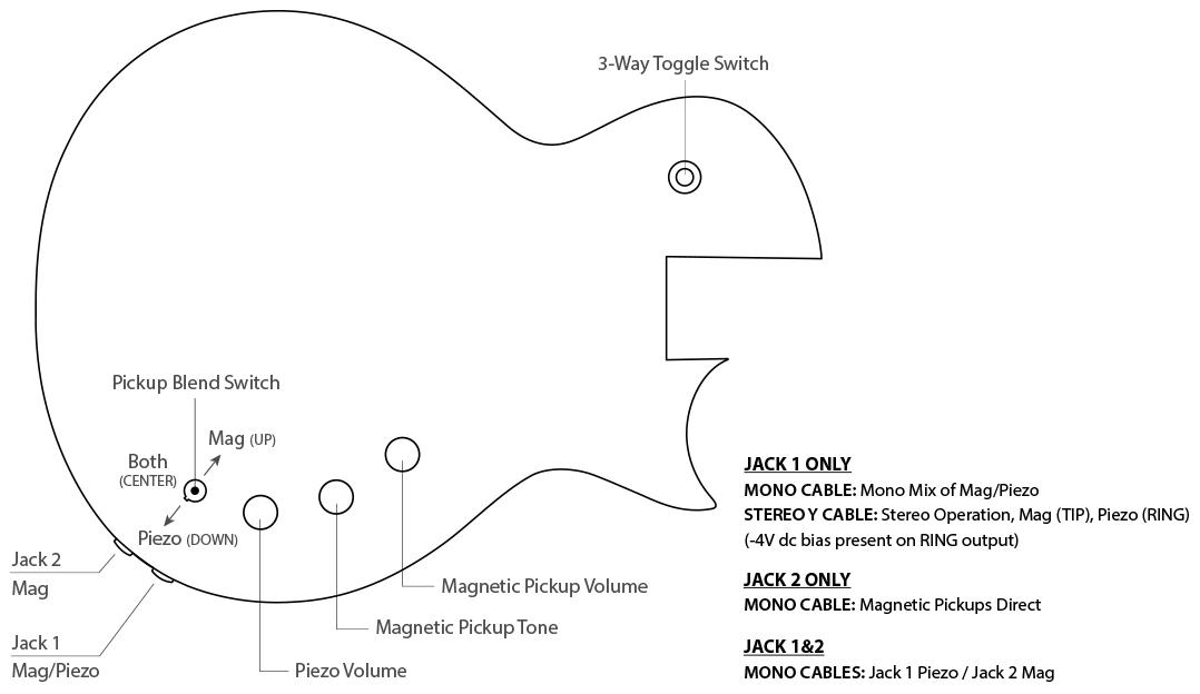 EC-1000 Piezo Control Diagram