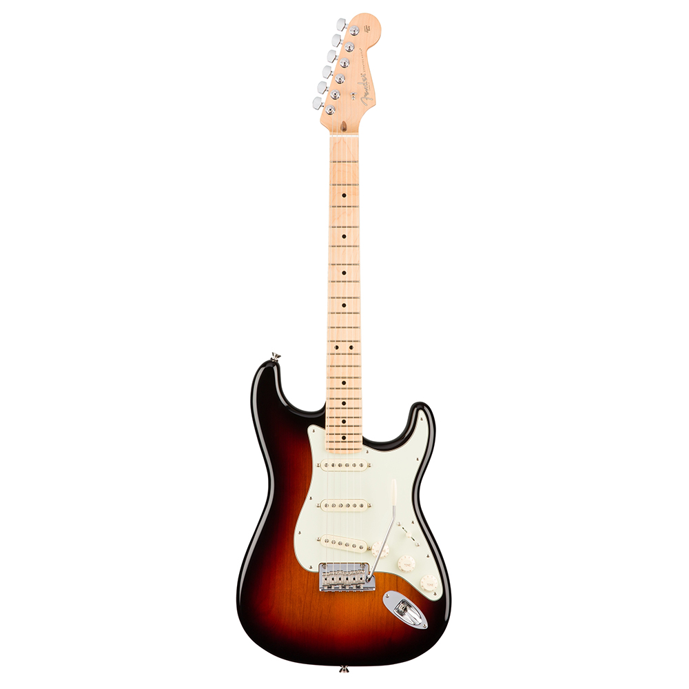 fender american professional stratocaster maple 3 color sunburst 2017 guitar compare. Black Bedroom Furniture Sets. Home Design Ideas