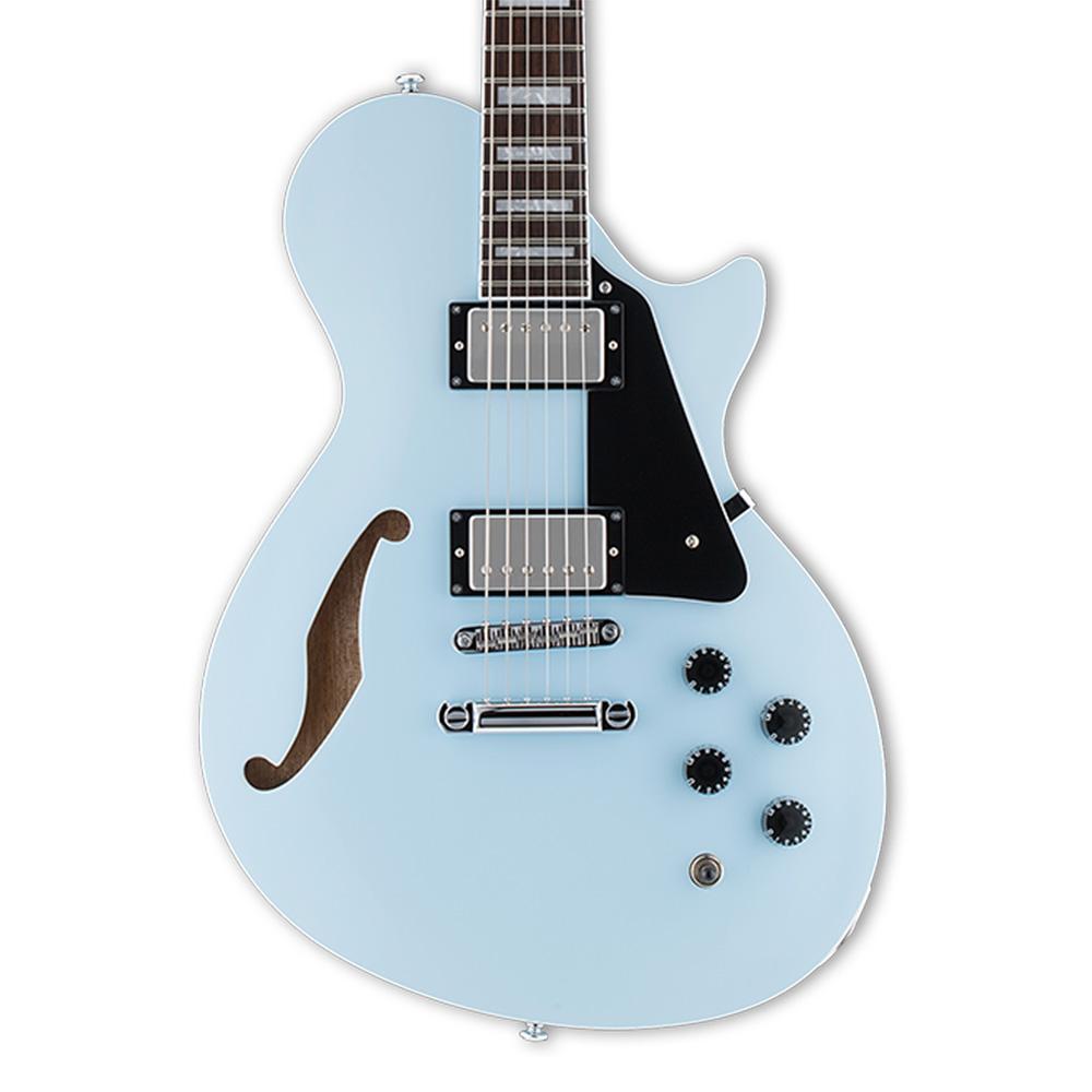 ltd ps 1 sonic blue 2017 guitar compare. Black Bedroom Furniture Sets. Home Design Ideas