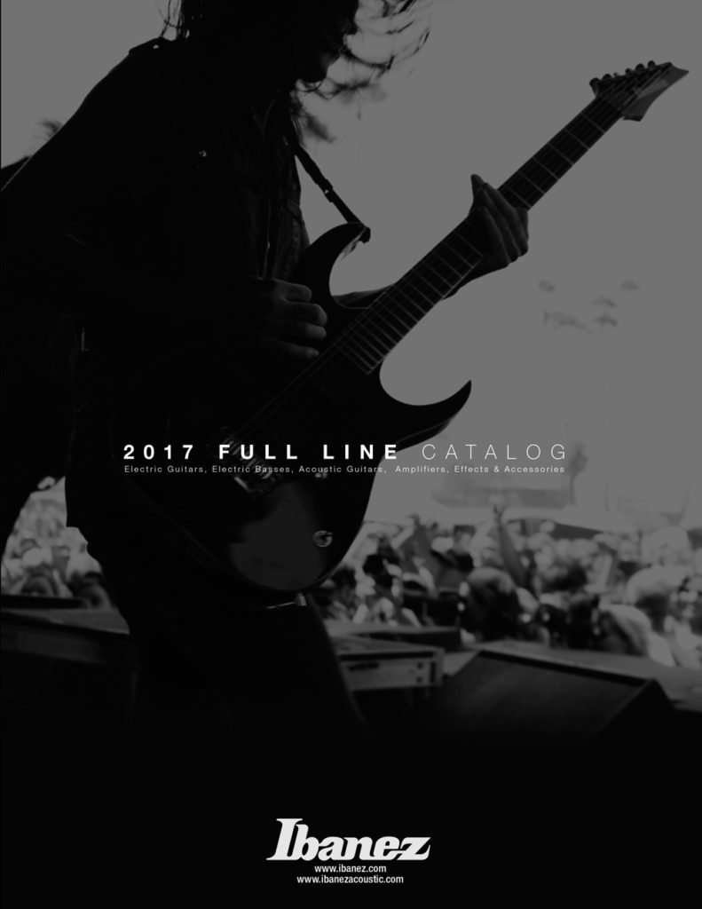 Ibanez Catalog 2017