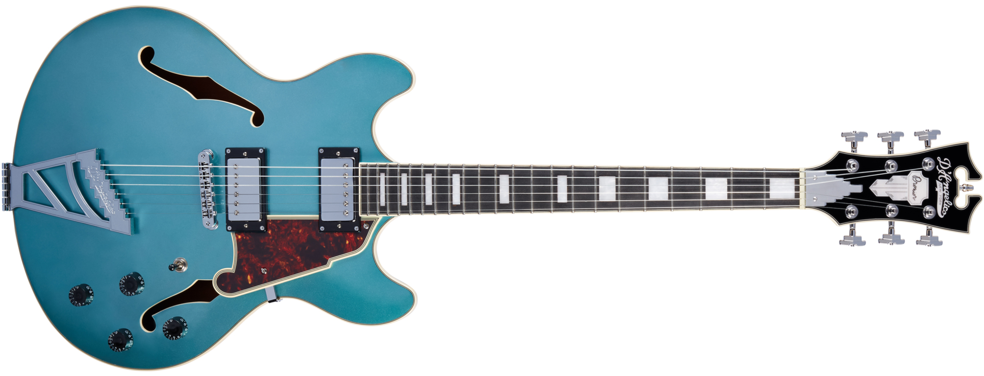 D'Angelico Premier DC Ocean Turquoise (2018)_01