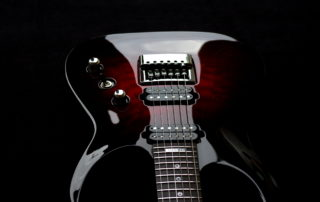 Taisto Guitars - V25-ET ECM Body Top Front