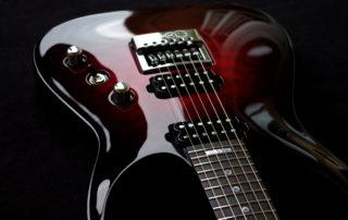 Taisto Guitars - V25-ET Front Top