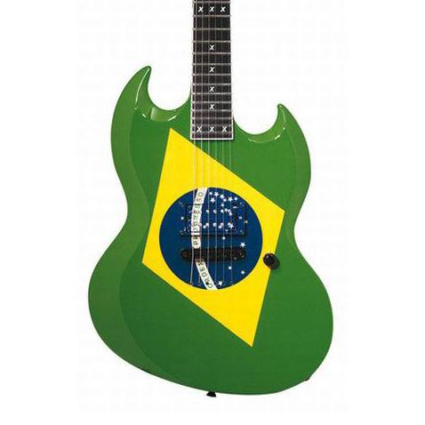 ESP Max Cavalera Brazilian Green