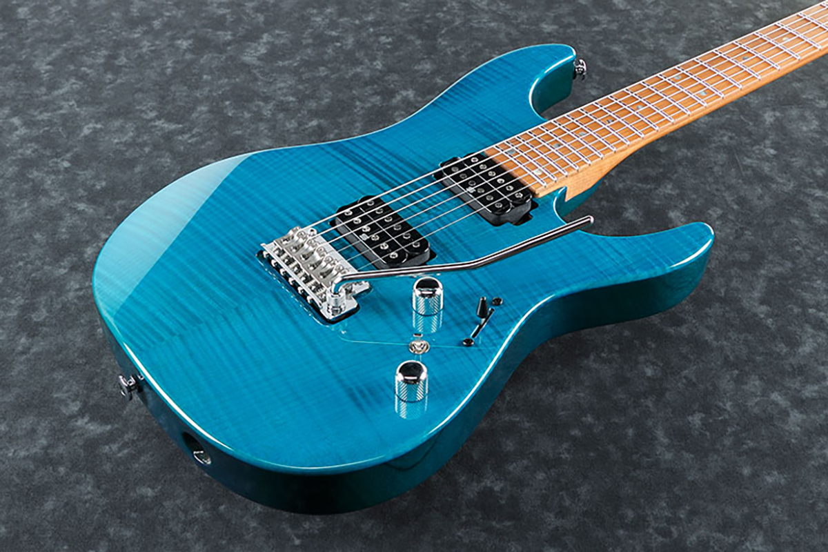 Ibanez MM1 Transparent Aqua Blue