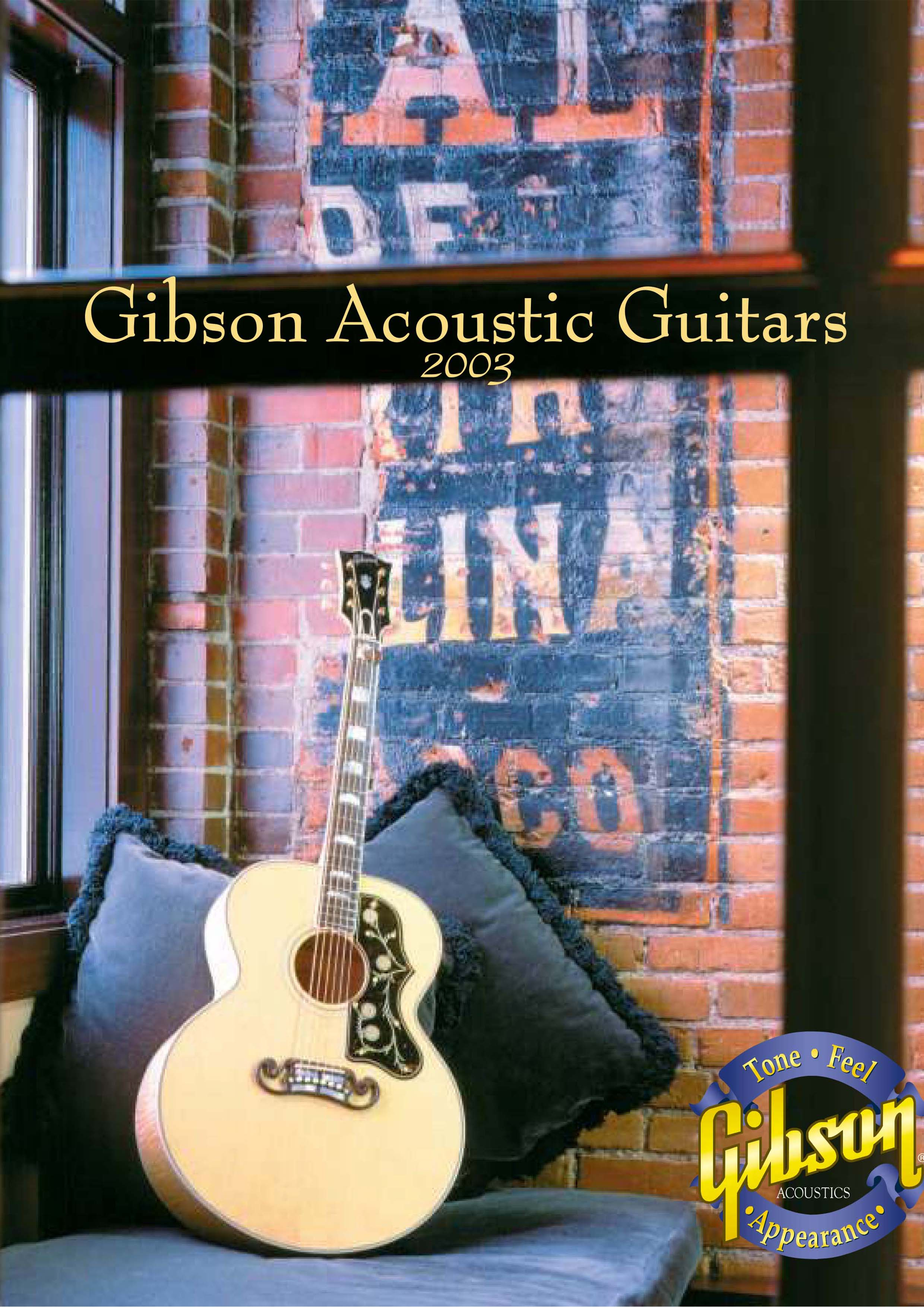 Product Catalog Acoustic 2003
