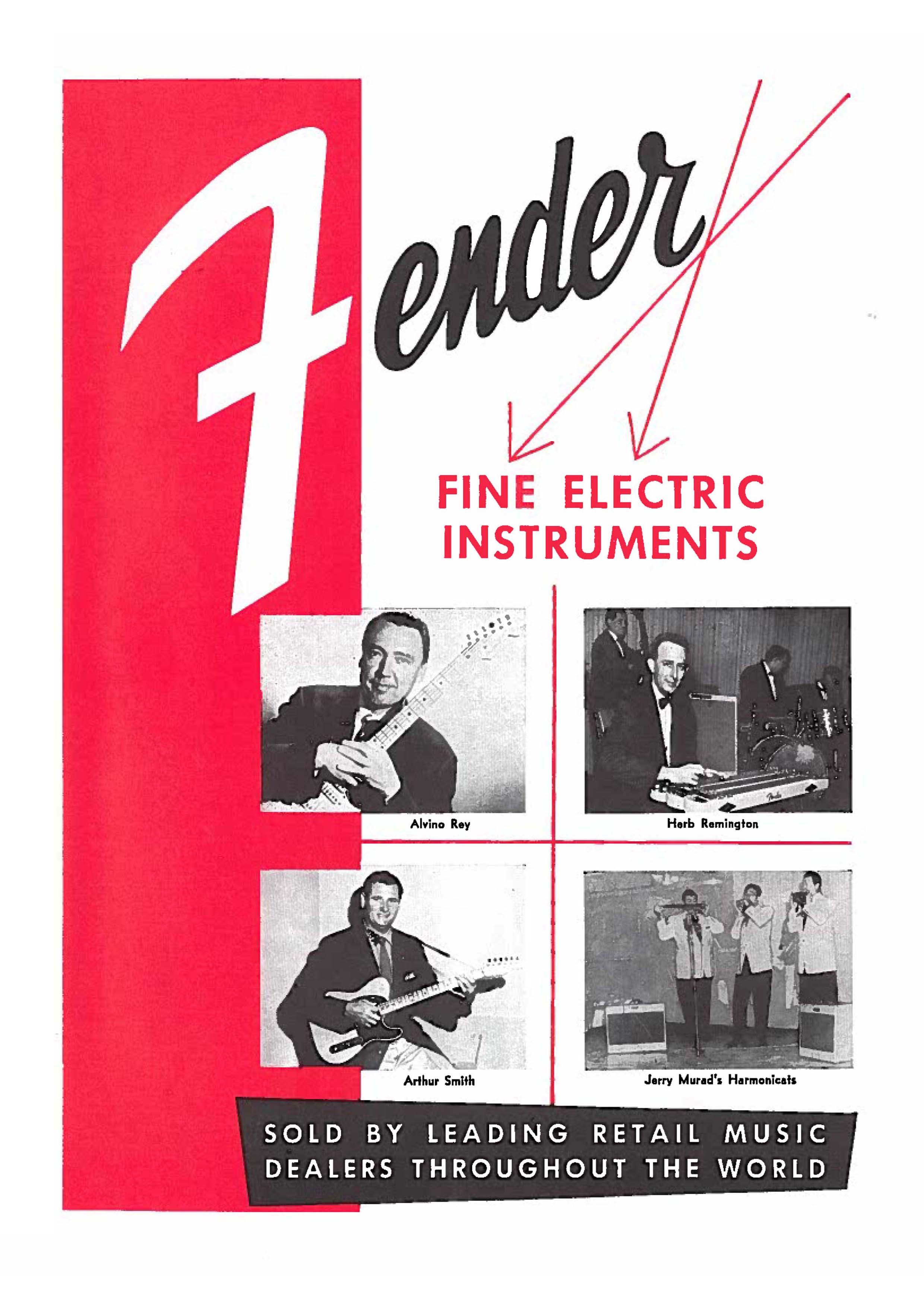 Fender Catalog 1956