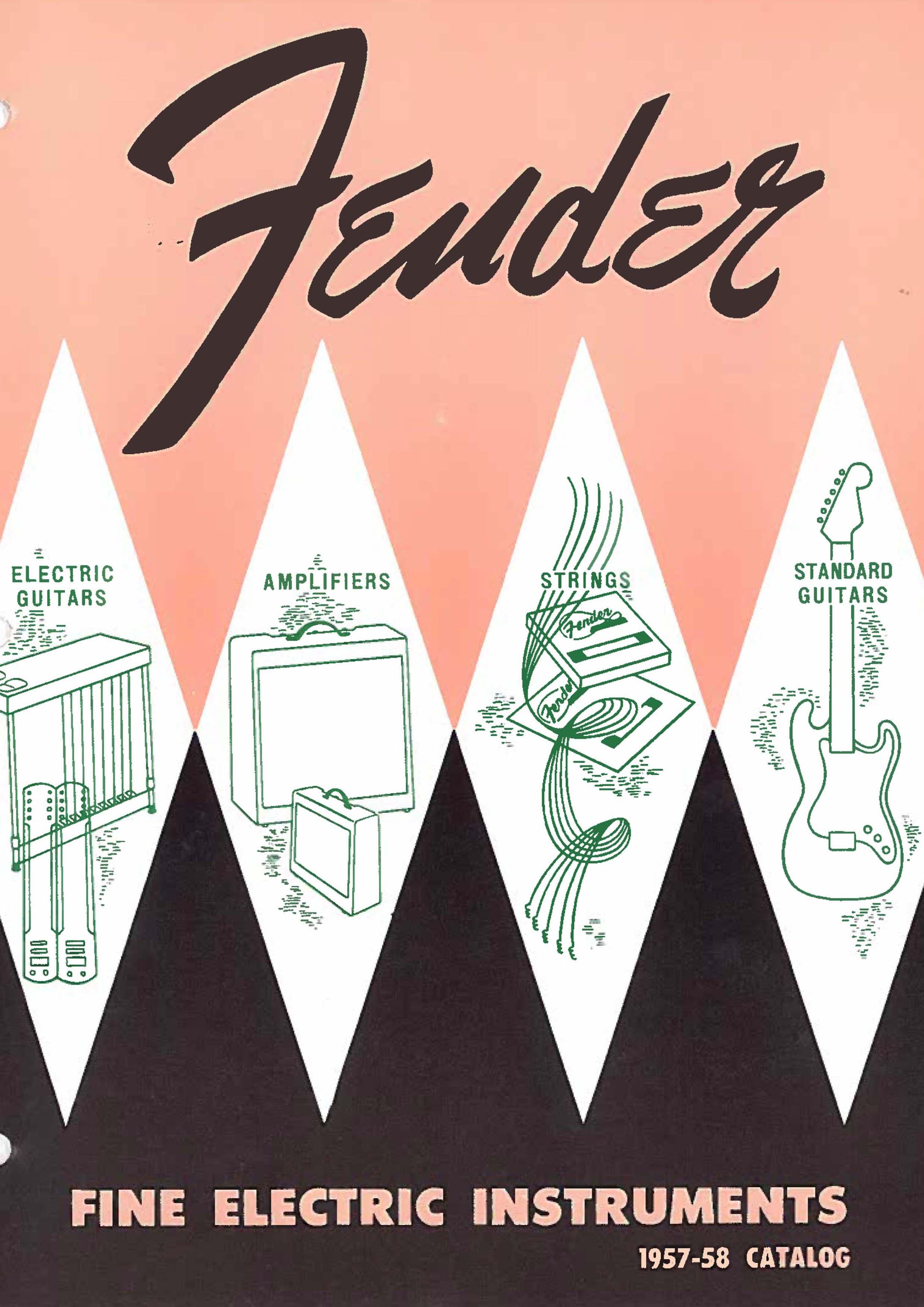 Fender Catalog 1957-58