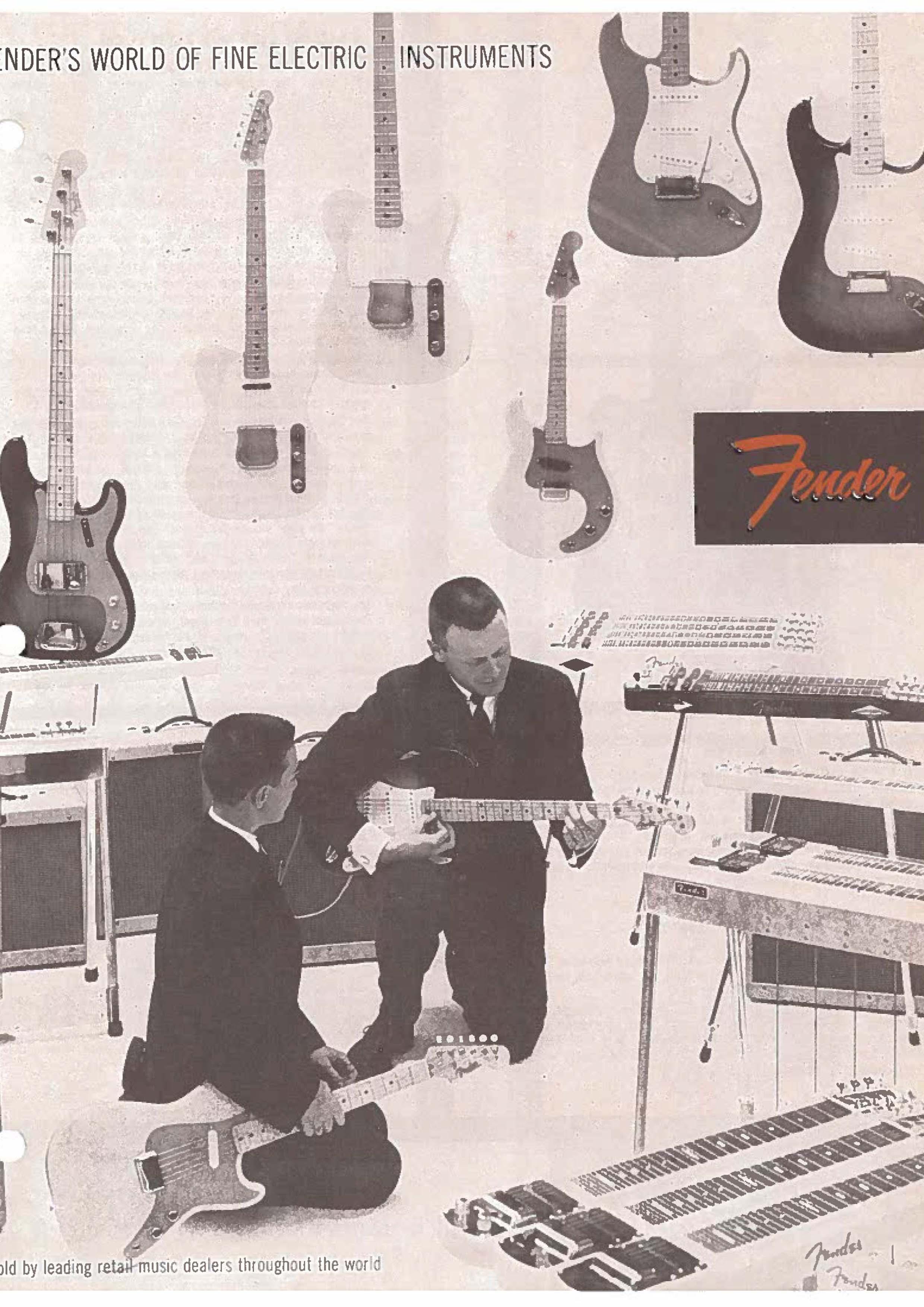 Fender Catalog 1958