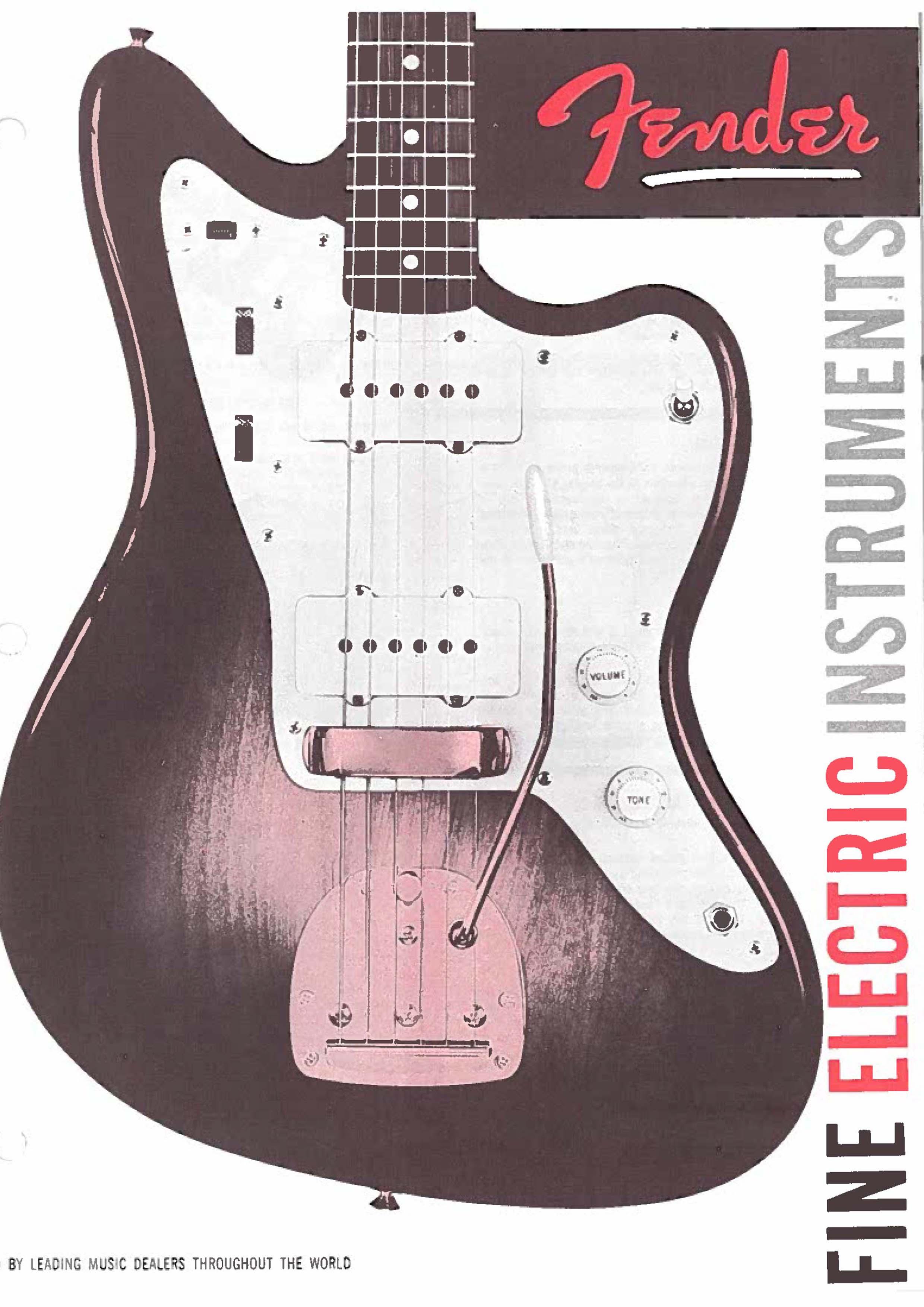 Fender Catalog 1959