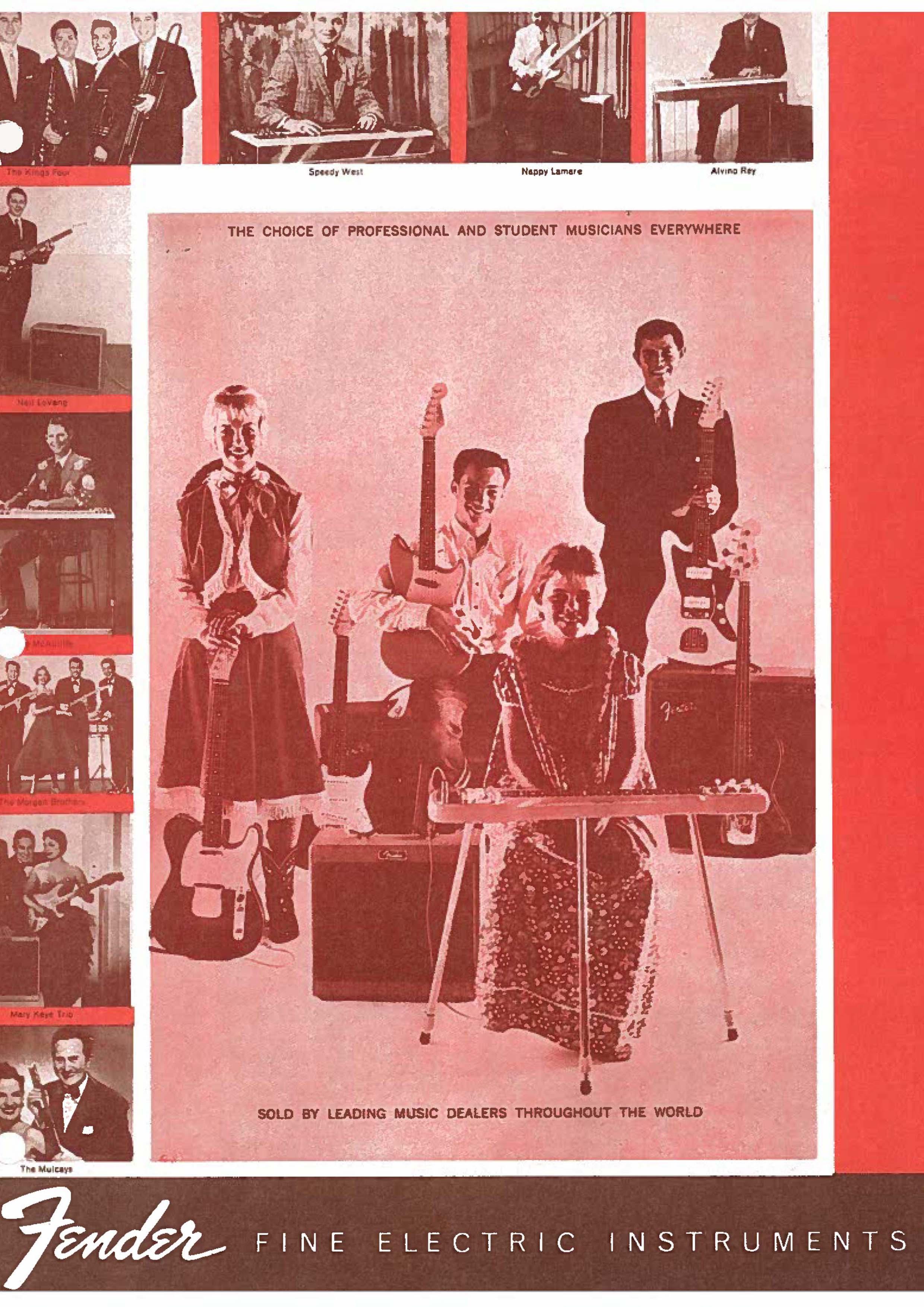 Fender Catalog 1960