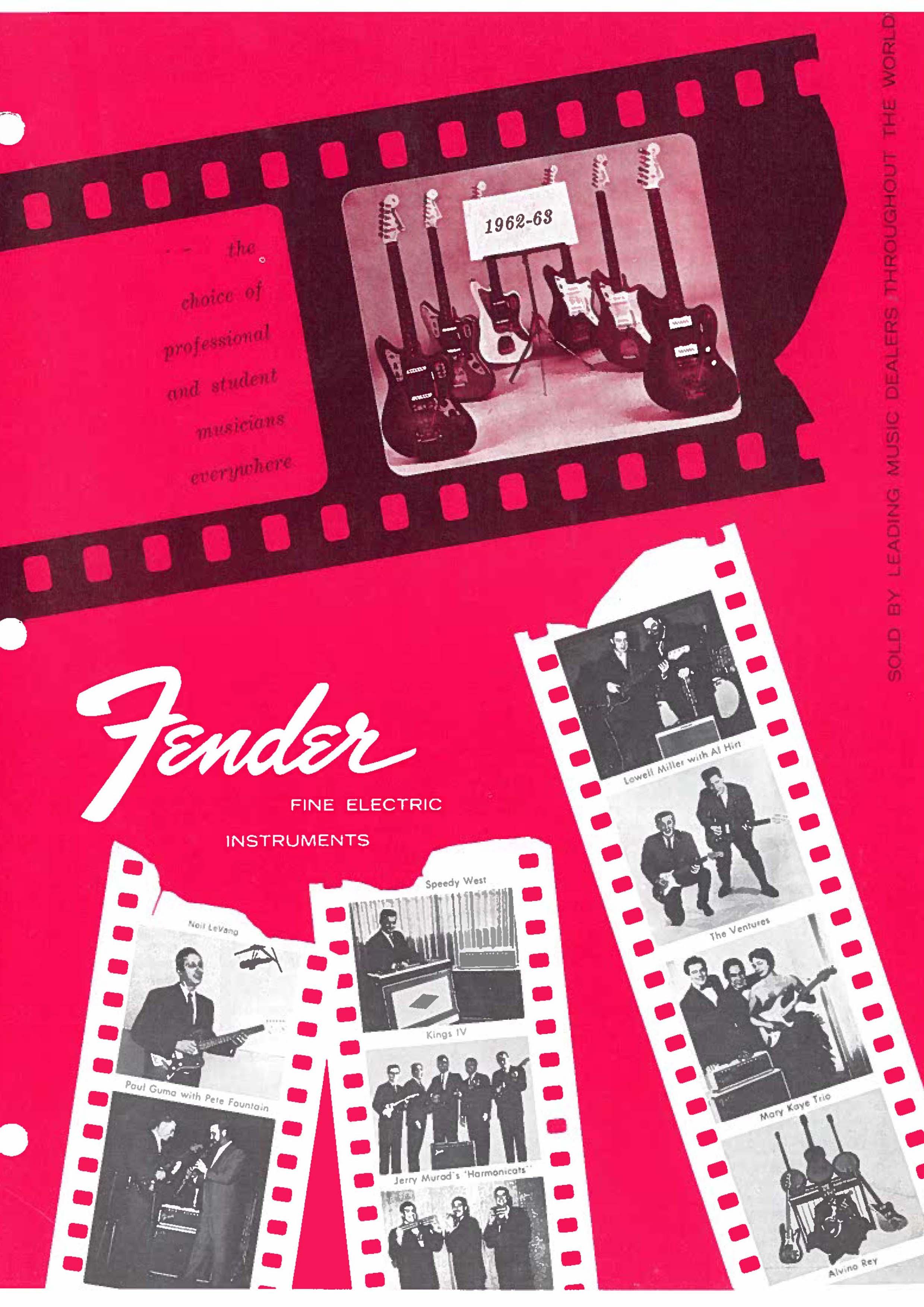 Fender Catalog 1962-63