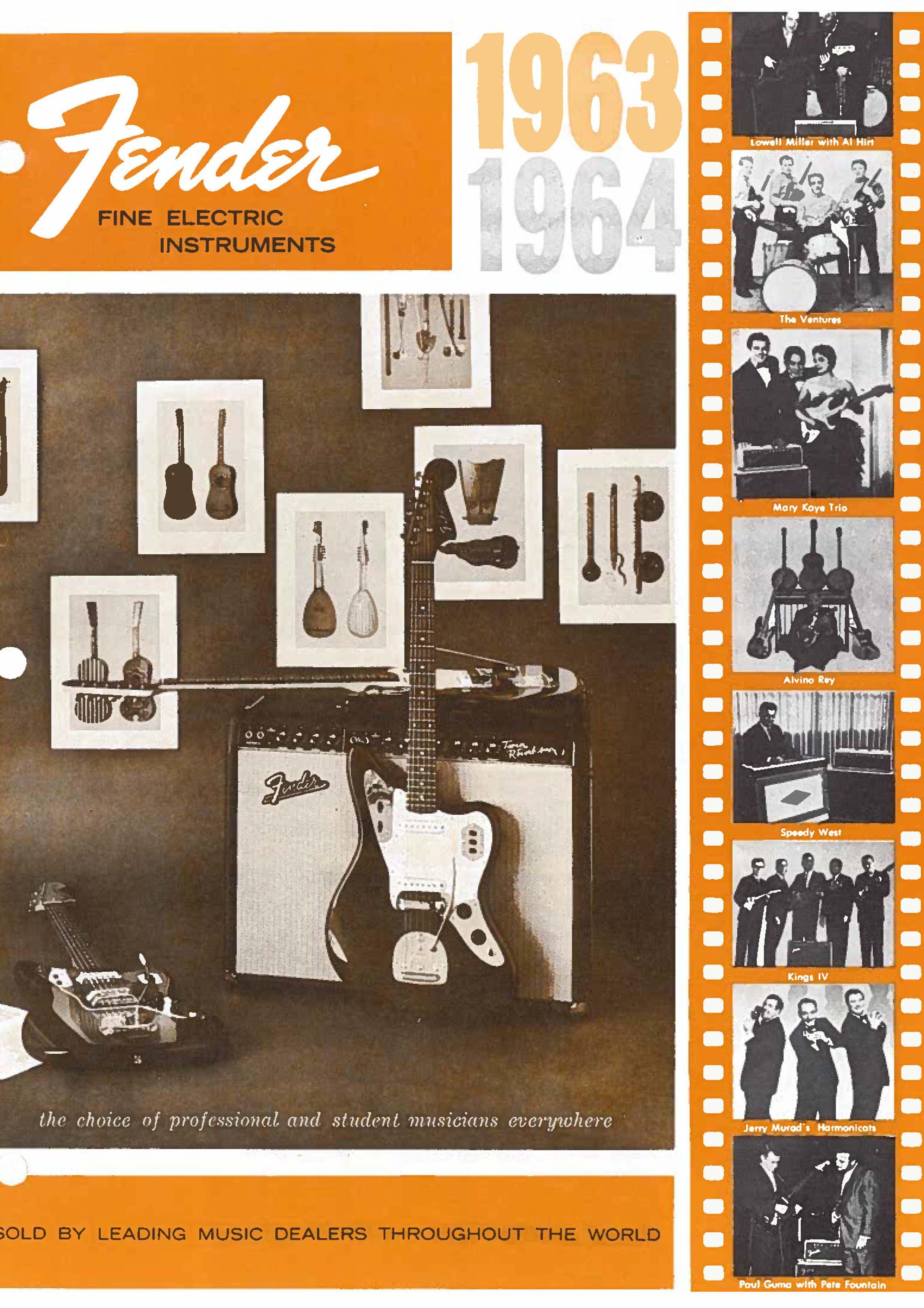 Fender Catalog 1963-64