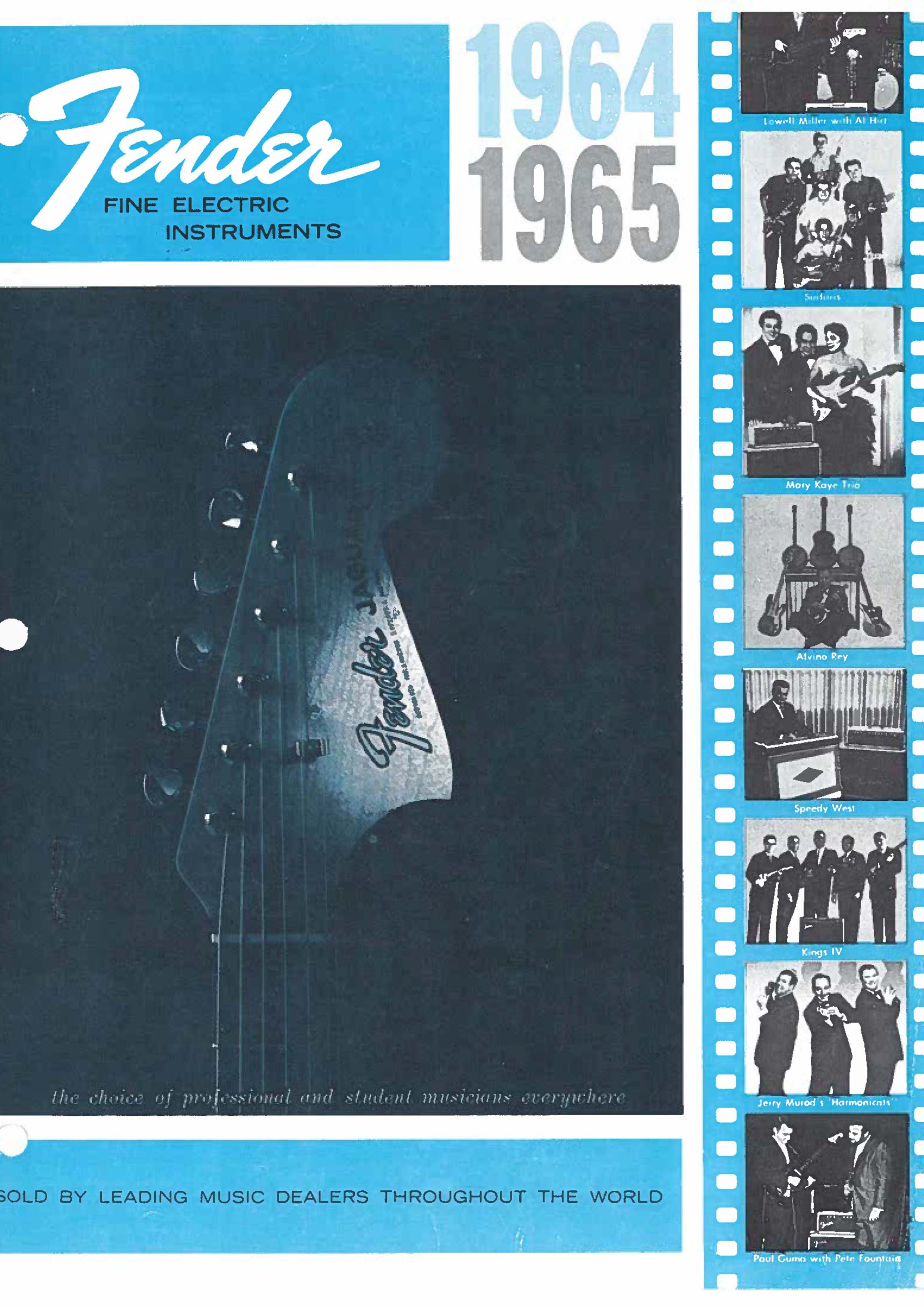 Fender Catalog 1964-65