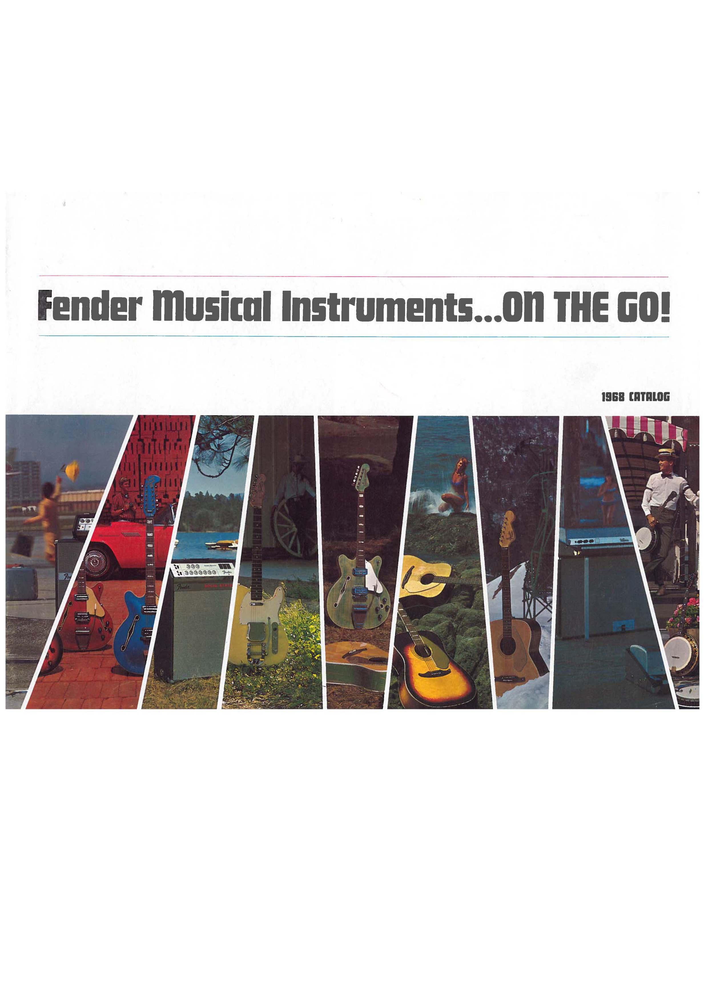 Fender Catalog 1968