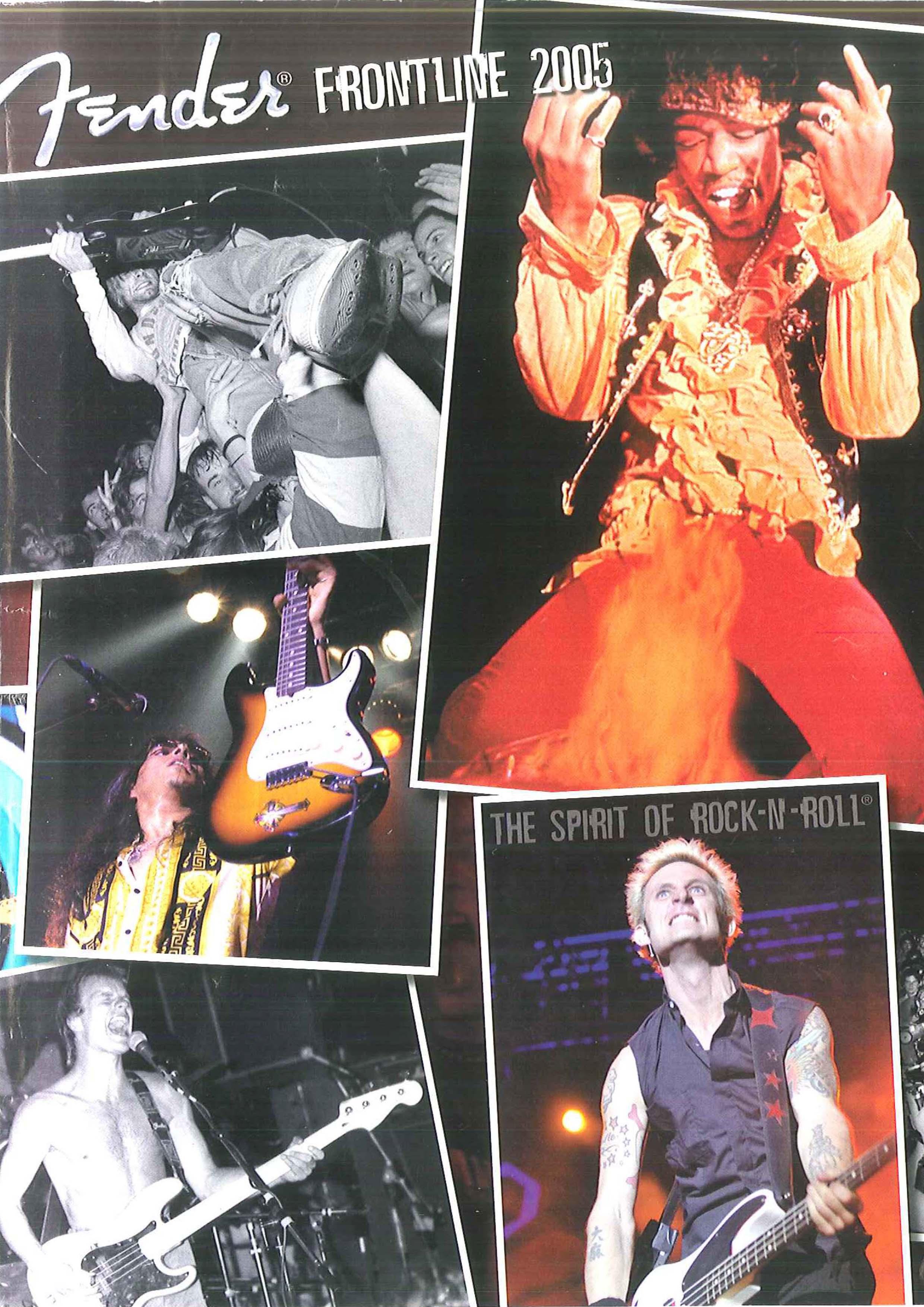 Fender Catalog 2005