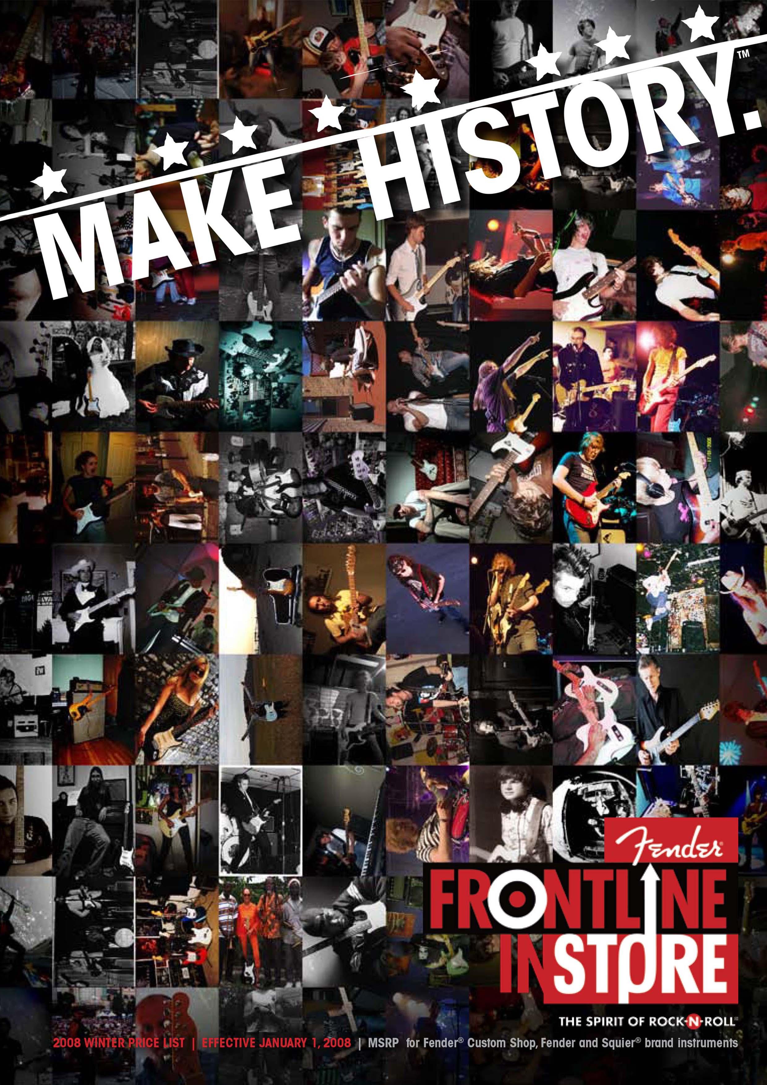 Fender Catalog 2008