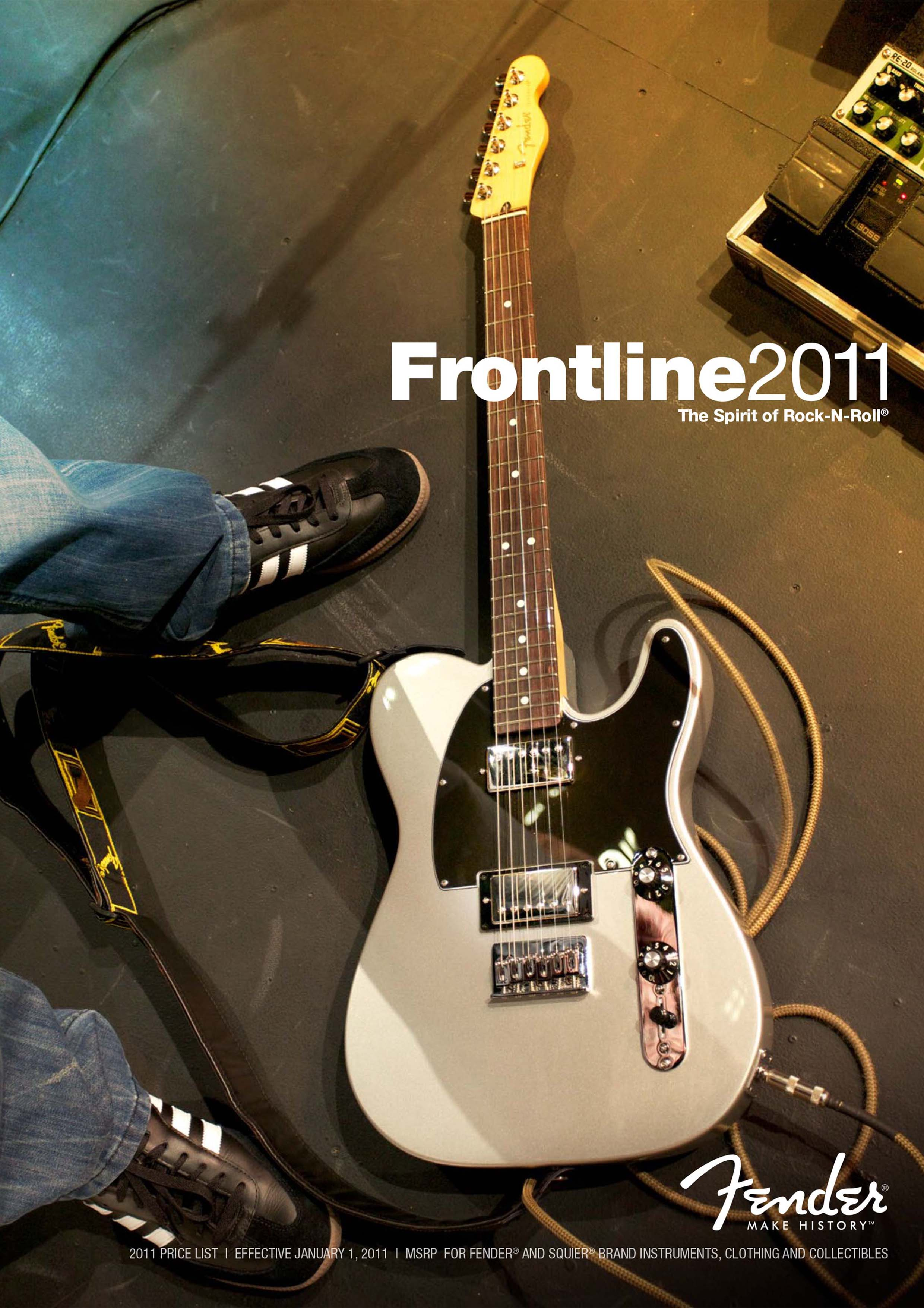Fender Catalog 2011