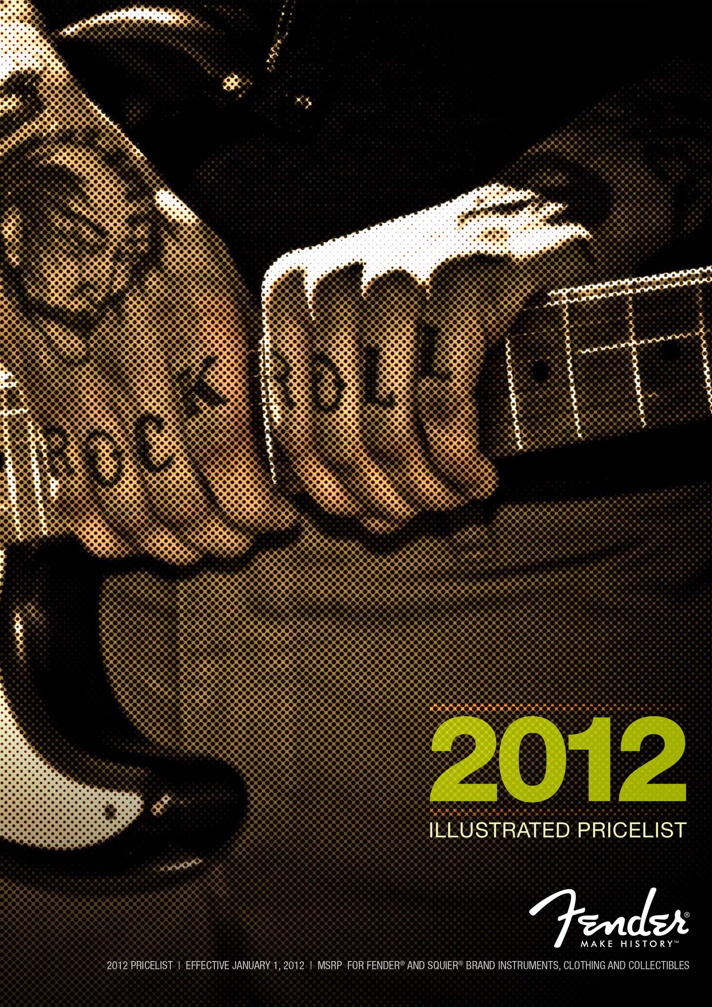 Fender Catalog 2012