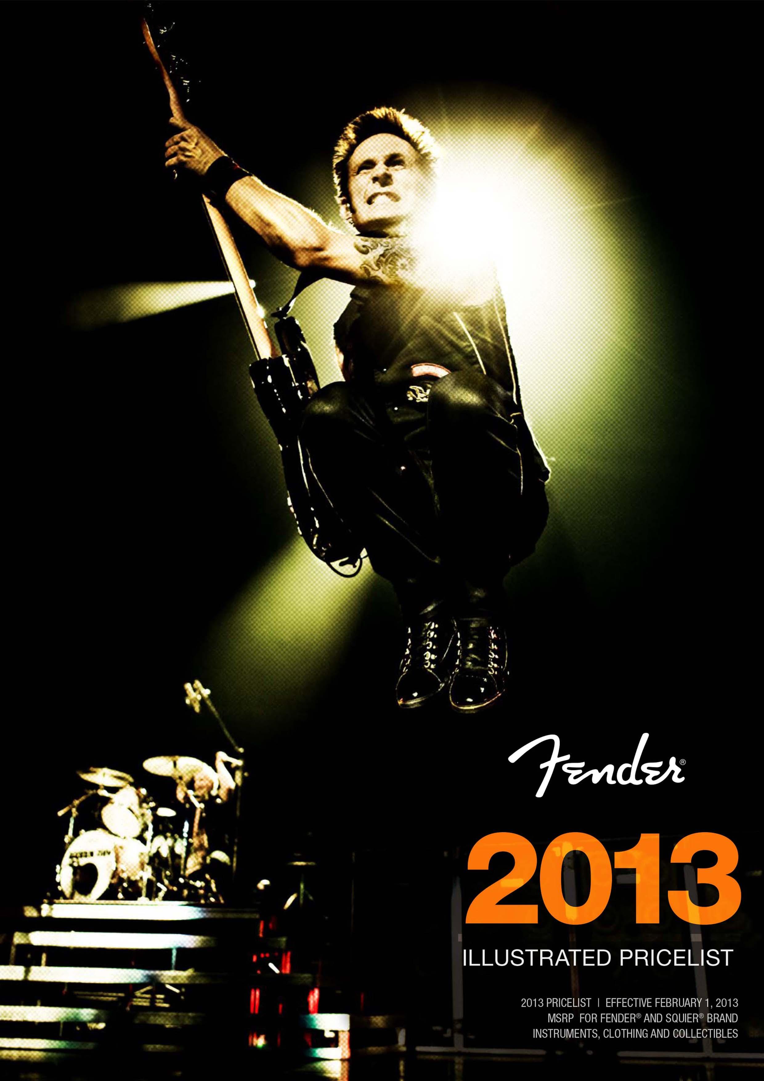 Fender Catalog 2013