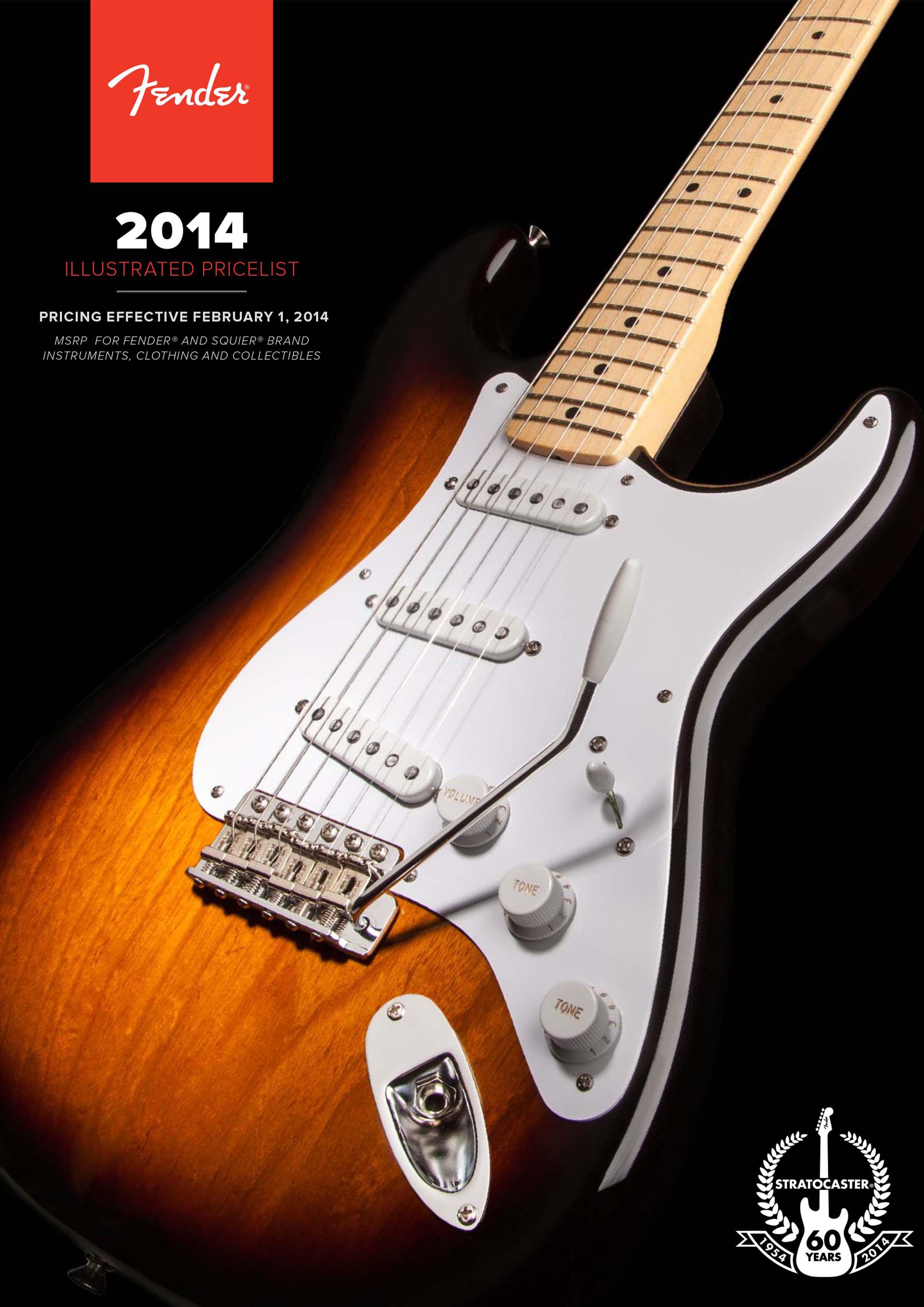 Fender Catalog 2014