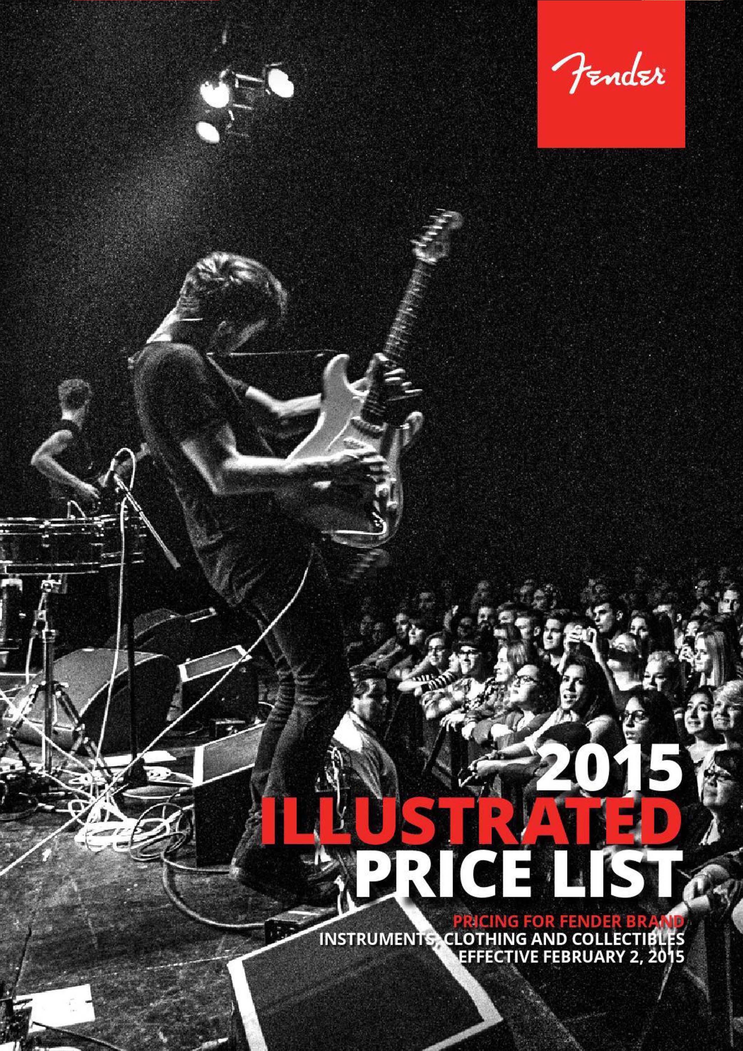 Fender Catalog 2015
