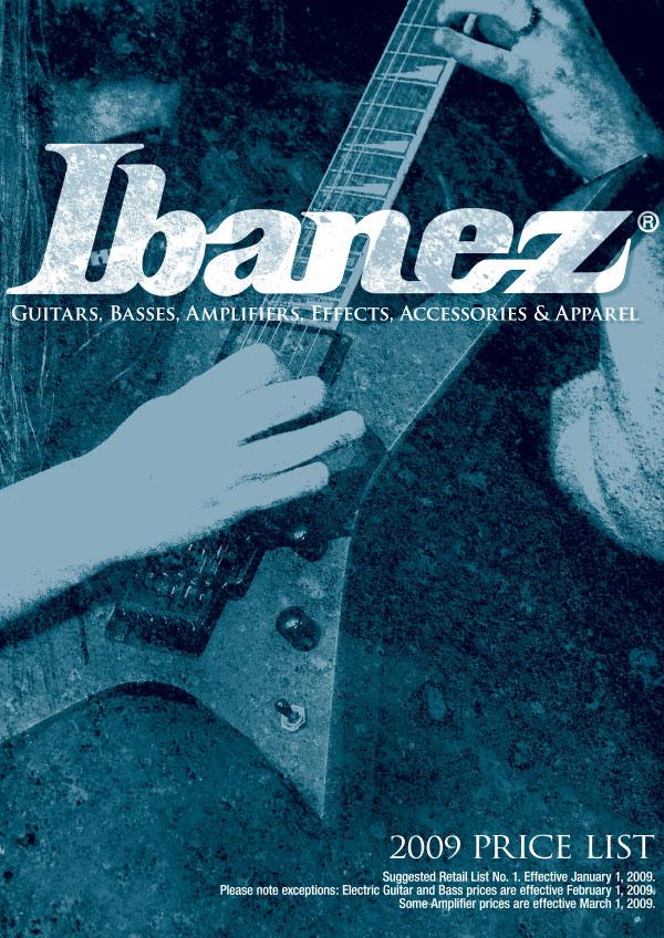 Ibanez Price list 2009