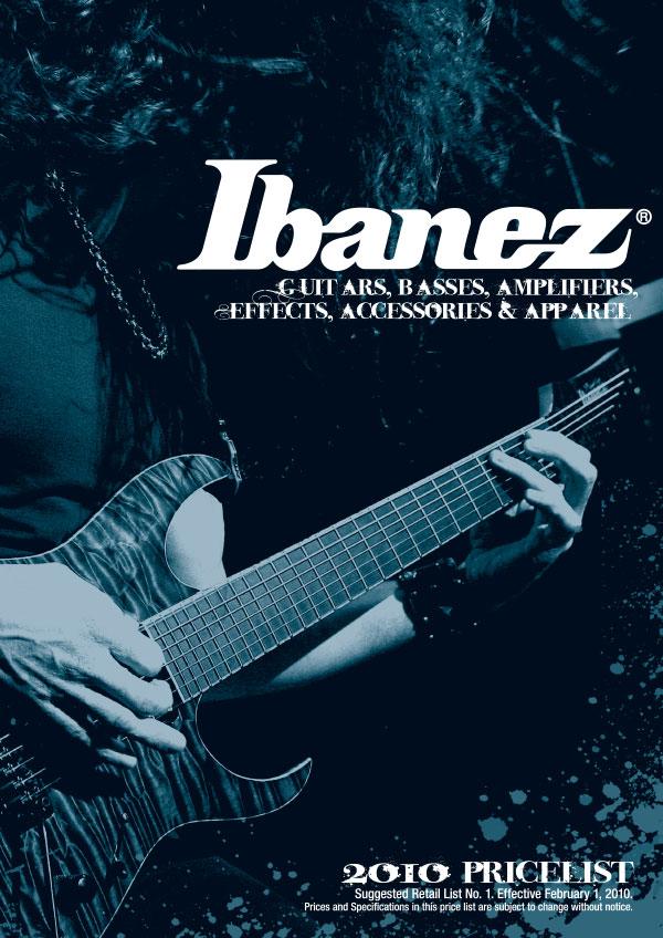Ibanez Price list 2010 February