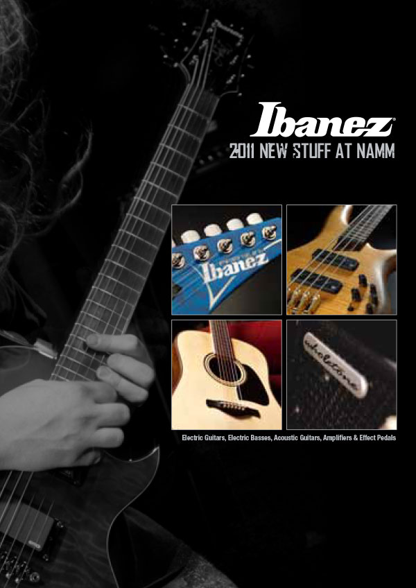 Ibanez Price list 2011 Winter