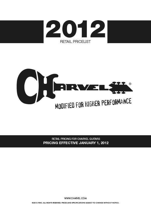 Charvel Price List 2012