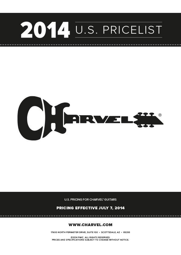 Charvel Price List 2014