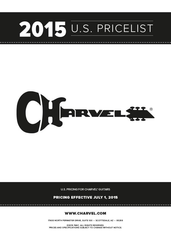 Charvel Price List 2015