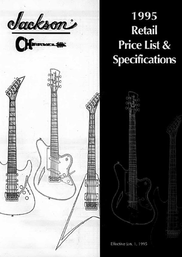 Charvel Price List 1995