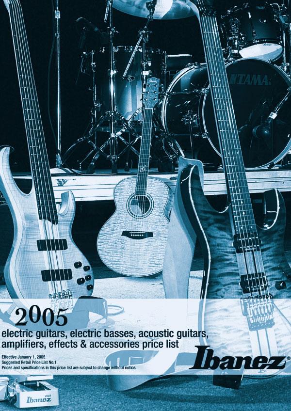 Ibanez Price list 2005