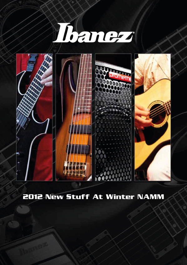 Ibanez Price list 2012 News Winter