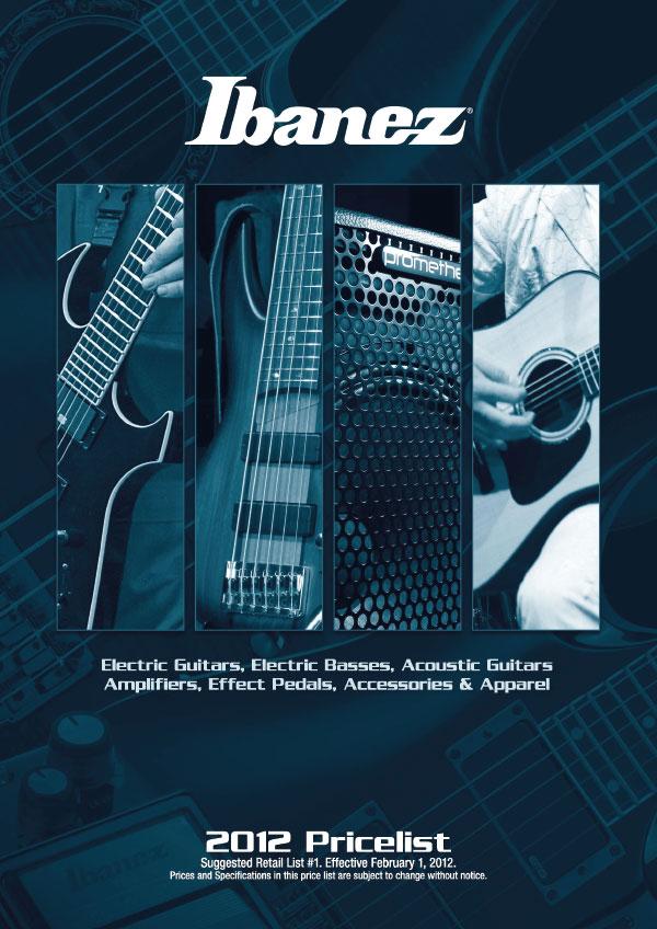 Ibanez Price list 2012