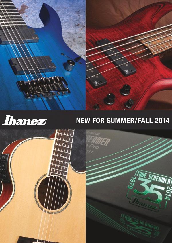 Ibanez Price list 2014 News Summer