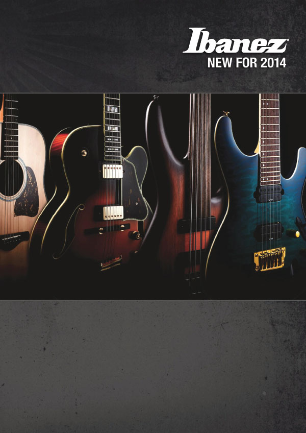 Ibanez Price list 2014 News Winter