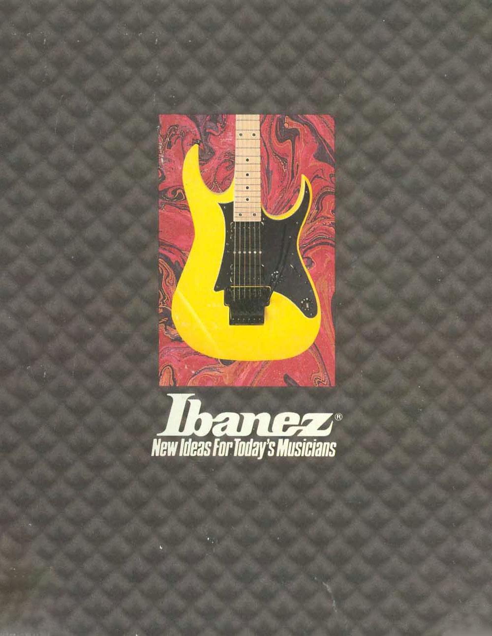 Ibanez Catalog 1989