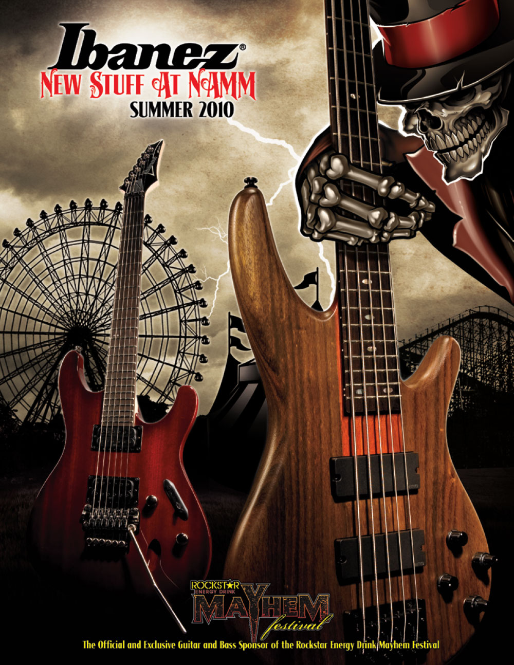 Ibanez Catalog News 2010 Summer
