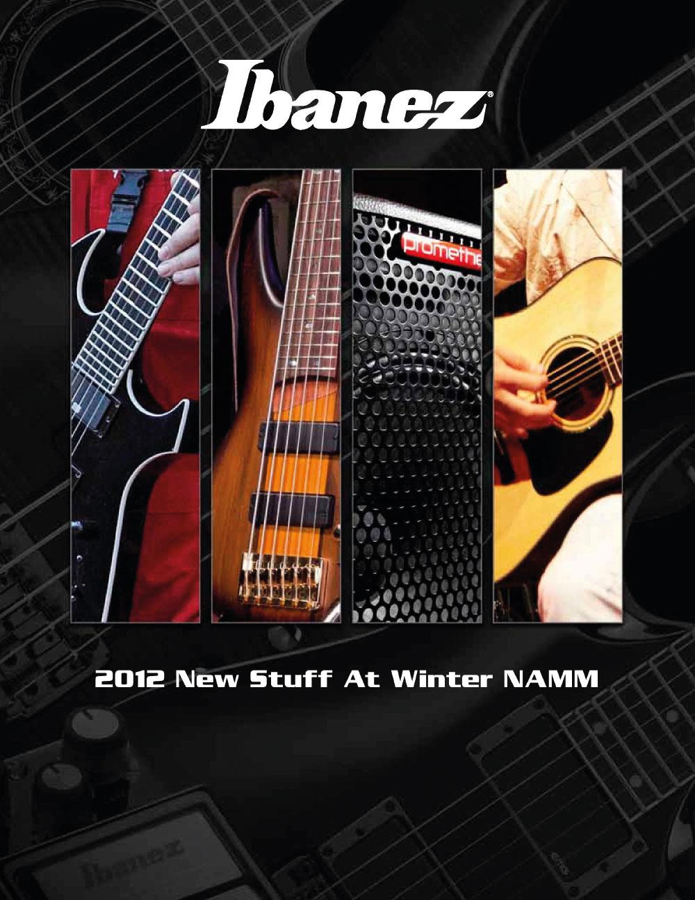 Ibanez Catalog News 2012 Winter