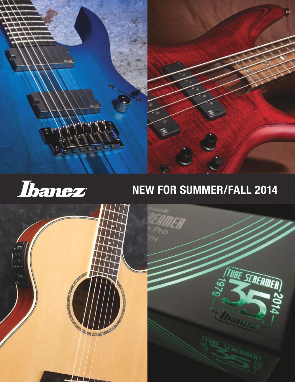 Ibanez Catalog News 2014 Summer