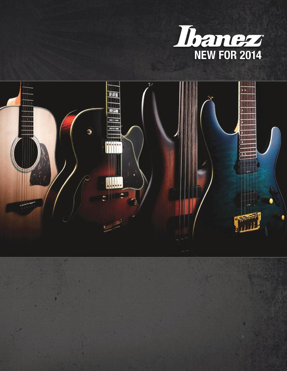 Ibanez Catalog News 2014 Winter