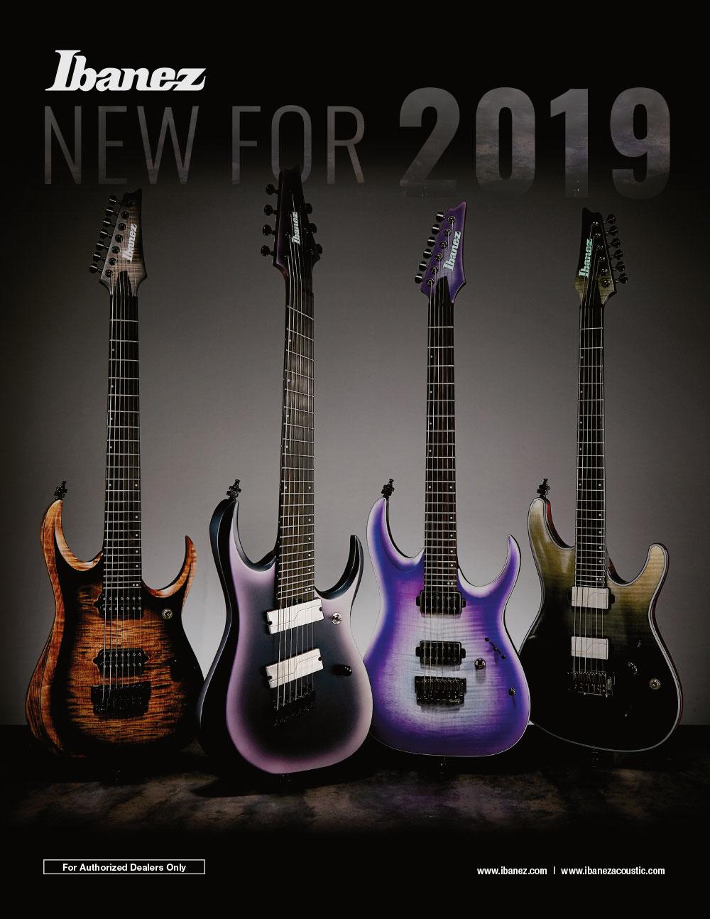 Ibanez Catalog 2019 News