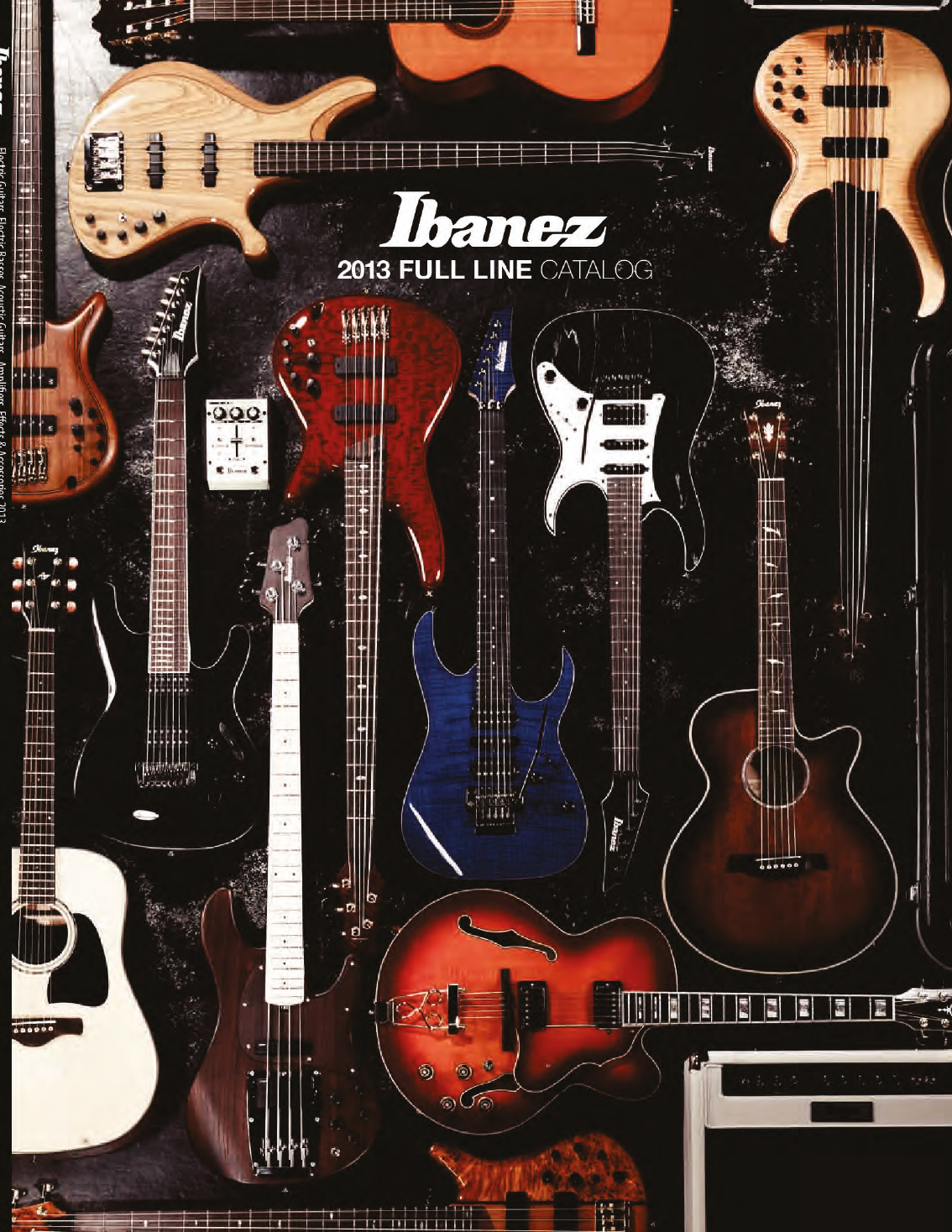 Ibanez Catalog 2013 Japan