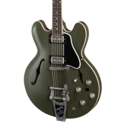 Chris Cornell ES-335 Tribute - Olive Drab Green_02