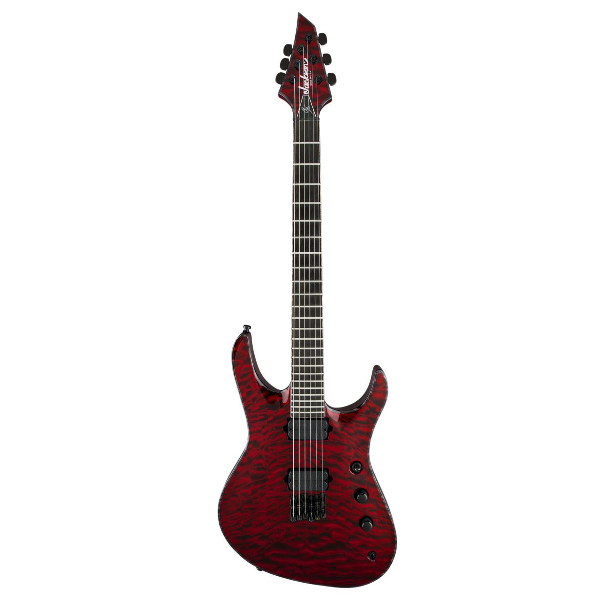 USA Signature Chris Broderick Soloist™ HT6 Transparent Red_01