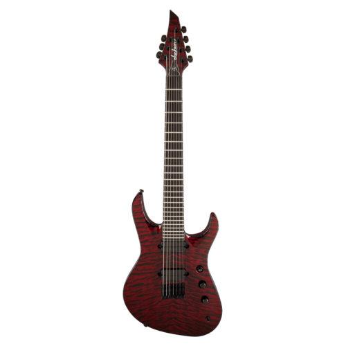 USA Signature Chris Broderick Soloist™ HT7 Transparent Red_01
