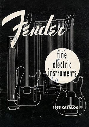 Fender Catalog 1955