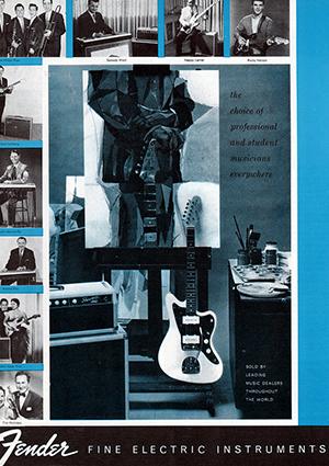 Fender Catalog 1961